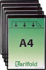 tarifold Magnetische Tafel A4 univschwarz ( 1 VE 5 Stück )