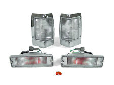 DEPO CLEAR CORNER+BUMPER SIGNAL LIGHTS FIT FOR 1990-1997 NISSAN HARDBODY PICKUP