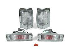 DEPO Clear Corner + Bumper Signal Light For 1990-1997 Nissan Hardbody Pickup