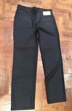 "Men's 4 George St Bosporus trousers Dark Grey flannel BNWT sz 36"""
