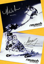 Mikaela shiffrin-marcel hirscher - 2 top ak imágenes (3) - Print copies + 2 ak