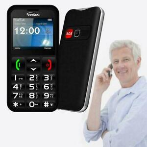 T-Mobile Senior Cell Phone Big Button SOS GSM 2G Unlocked Phone Cell For H4P6