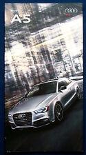 Prospekt brochure 2017 Audi A5 (USA)
