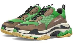 BALENCIAGA Triple S Logo Sneakers 7 UK > 41 EU Trainers rrp £740-