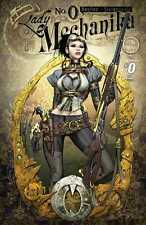 LADY MECHANIKA #0A 1st print JOE BENITEZ Aspen VF SOLD OUT and VERY HARD TO FIND