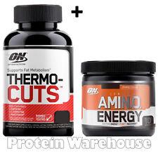 Optimum Nutrition Amino Energy 90g Essential Amino Acid + Thermo Cuts 100 Caps