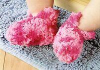 WARM Fuzzy Baby Slippers/Booties/Crochet Pattern