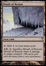 MTG 4x MOUTH OF RONOM - Coldsnap *Snow Land DEUTSCH*