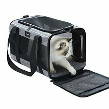 New listing Vceoa Airline Approved Soft-Sided Pet Travel Carrier for Dogs and Cats Medium Xh