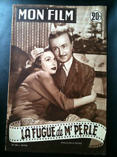 "Mon Film 29/7/53 ""La Fugue de Mr Perle"" Noël-Noël"