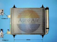 Fit with CITROEN C5 Condenser air conditioning 16-1982A 1.6L
