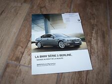 Catalogue / Brochure BMW Serie 5 berlines / 5 Series Sedans 2011 //