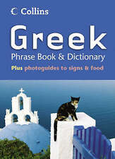 Collins Greek Phrase Book and Dictionary, Not Known, Very Good Book