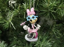 """Minnie Mouse """"Rock n' Roll"""" Band, Disney Christmas Ornament"""
