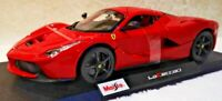 Maisto 1:18 Scale Ferrari LaFerrari Red Diecast Model Car NEW SEE VIDEO