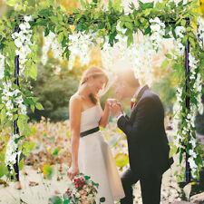 4x Artificial Flowers Wisteria Garland Vine Rattan Hanging Wedding Floral Decor