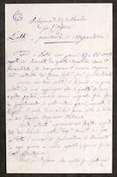 Relazione di collaudo per Organo Parrocchia di Lobbi - Alessandria - 1882