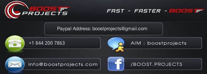 Boost Projects
