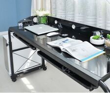 Adjustable Movable Laptop Computer Desk/Table Over Bed Storage Home Furniture