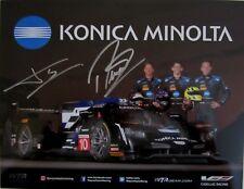 2018 SIGNED KONICA MINOLTA CADILLAC IMSA ROLEX 24 WTSC RACING PHOTO HANDOUT