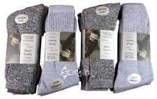 Mens Boot Work Hiking Work Melange Socks Shoe Size 6 - 11  6 Pack or 12 Pack