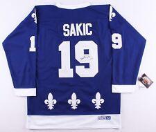 Joe Sakic Signed Nordiques Jersey (JSA COA)