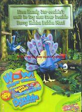 "Hubba Bubba Max ""Sour Double Berry"" 2006 Magazine Advert #4740"
