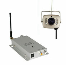 Mini Wireless Home Security Nanny Camera Spy Hidden Pinhole 6LED Complete System