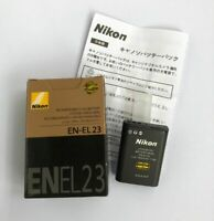 Genuine Nikon EN-EL23 Battery for CoolPix P600 P610 P900 S810C B700 MH-67