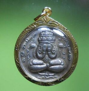 AWESOME! REAL PIDTA PHANGPHRAKARN OLD THAI AMULET VERY RARE !!!