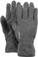 Barts Fleece Gloves Heather Grey Handschuhe Winterhandschuhe grau L 01063021