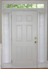Sidelight Plantation Blinds White Faux Wood Room Darkening 9 x 72 in 2 PACK