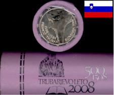 ROULEAU  ROLL - 25 x 2€ COINS SLOVENIE  SLOVENIA  2008 - Primoz Trubar 500 Yrs