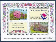 DAG -Timbre de France Bloc N° 15 NEUF LUXE ** Parc Floral