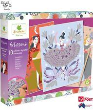 Sycomore Artissimo DIY Craft Dancers Scratch Art Kit