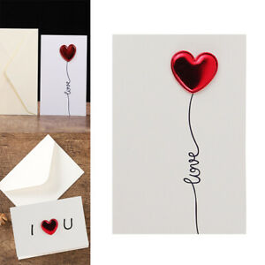 Heart Gift Card Greeting Cards Postcard Gift Anniversary Paper