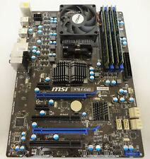 Bundle MSI 970a-g43 ms-7693 ver: 3.1/AMD Athlon II x4 620/8gb (4x2gb) #b9