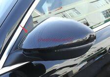 Carbon Fiber Rearview Door Side Mirror Cover Trim For Alfa Romeo Stelvio 17-2019