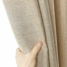 300cm Height Blackout Curtains For Living Room Custom Linen Thick Modern Curtain