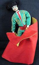 Souvenir Doll Matador Vaquero Bull Fighter Spain Torero Layna