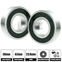 1,2,4pcs 5206-ZZ Double Row Shield Angular Contact Bearing 30X62X23.8mm