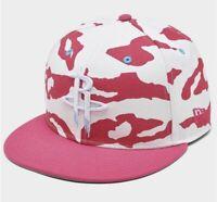 New Era NBA 9FIFTY Snapback Hat Cap Pink Camo Houston Rockets Sz OSFM FAST SHIP!