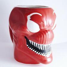 More details for officially licensed marvel venom carnage 16oz moulded mug spiderman oversized