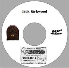 JACK KIRKWOOD SHOW (14 SHOWS) OLD TIME RADIO MP3 CD