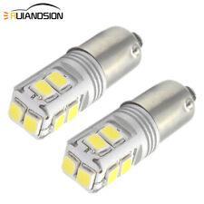 2pcs BA9S T4W Canbus 3030 10SMD LED 12-24V Car Indicator Signal Light Dash Bulb