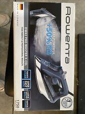 rowenta steam iron Dw82 Pro Master X-cel