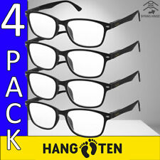Reading Glasses Mens Womens Unisex Style Readers 1 or 4 Pairs Quality Reader HT