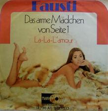"7"" 1970 CV RARE M-! FAUSTI Das arme Mädchen von Seite 1"