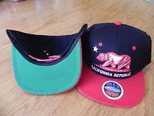 CALIFORNIA REPUBLIC CALI CALI-LIFE VINTAGE SNAPBACK RETRO  HAT CAP MANY COLORS!
