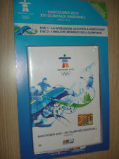 2 DOPPIO DVD VANCOUVER 2010 XXI OLIMPIADI INVERNALI OFFICIAL DVD SKY SPORT